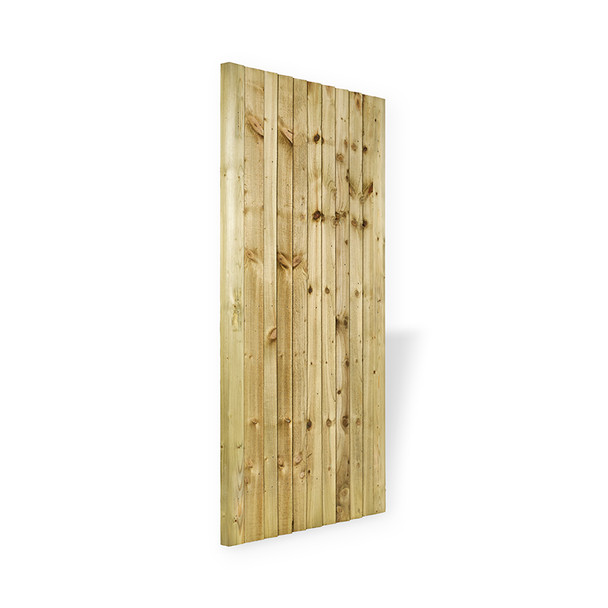 Closeboard Gate (1750 x 900mm) - Pressure Treated Green Timber