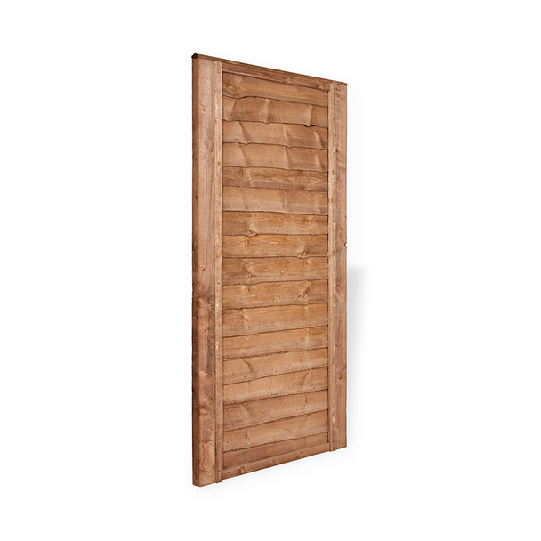 Lap Gate (1830 x 900mm) - Dip Treated Brown Timber