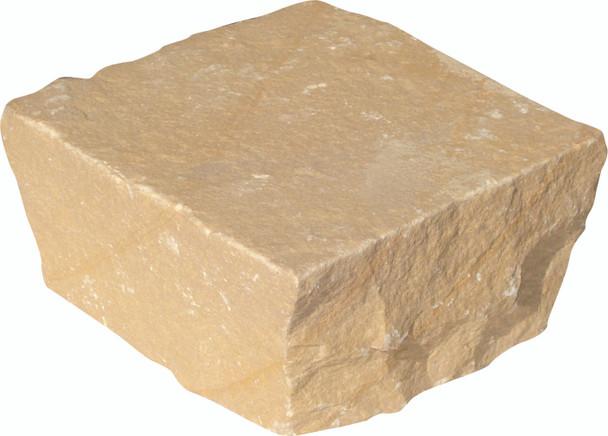 Global Stone Sandstone Driveway Setts (100 x 100 x 50mm) - Buff Brown