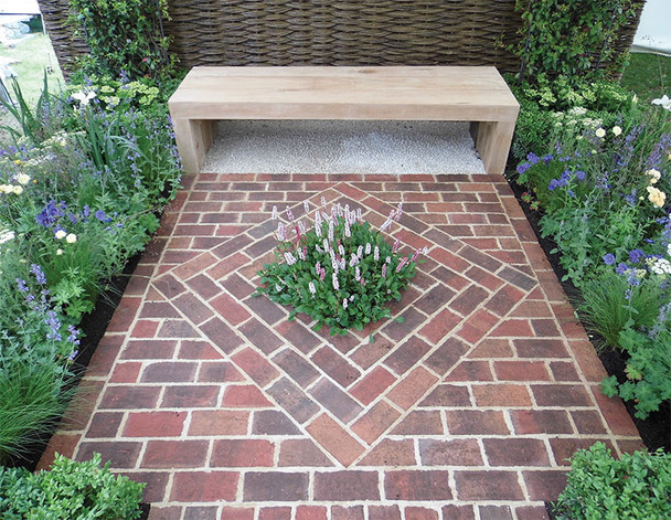 Global Stone Clay Pavers (210 x 100 x 50mm) - Rose Cottage