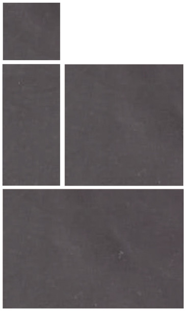 Global Stone Midnight Limestone Paving Project Pack (15.3sqm) - 25mm