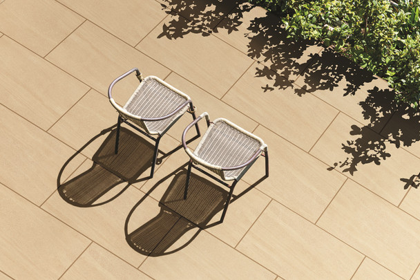 Global Stone Jewell Porcelain Paving (600 x 900 x 20mm) - Camel