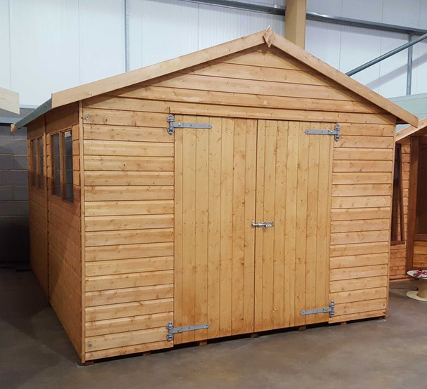 Major Heavy Duty Apex Shed -  1210 with 1.5m double doors