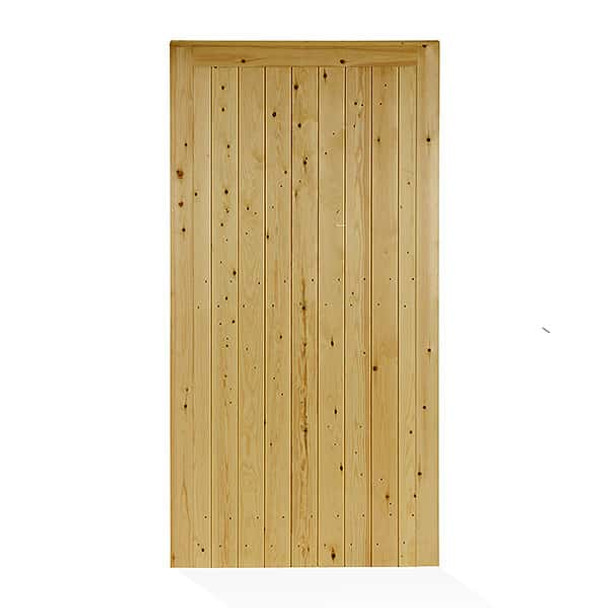 Tongue and Groove Town Gate (1750 x 900mm) - Pressure Treated Green Timber