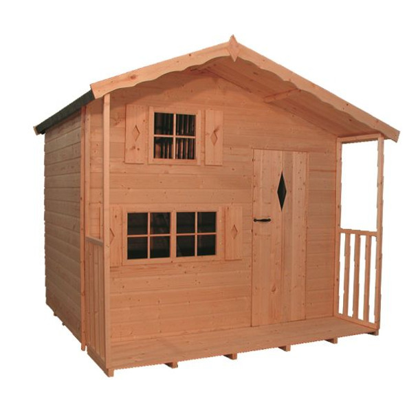 Ashcroft Two Storey Playhouse with Verandah - 808