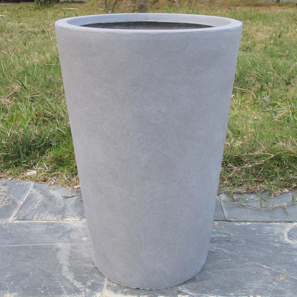 Smooth Fibrestone Vase Planter