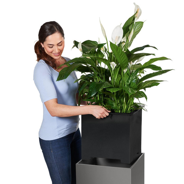 Floor Self-watering Planter with Substrate