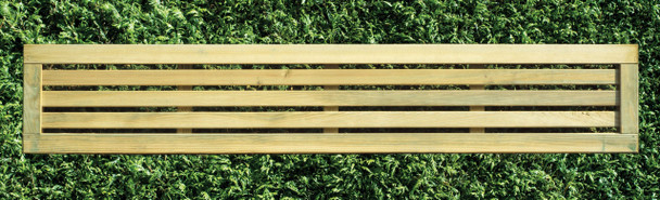 Slatted Fence Panel (1800 x 300mm) - Pressure Treated Green Timber