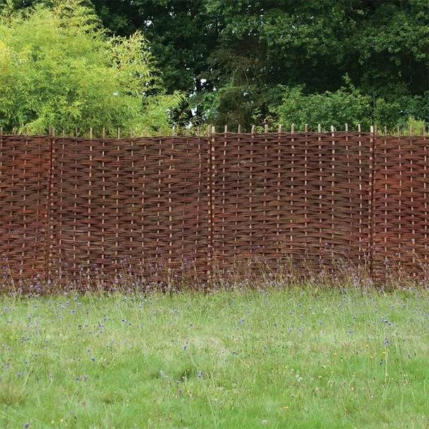 Willow Hurdle Fence Panel (1800 x 1200mm)