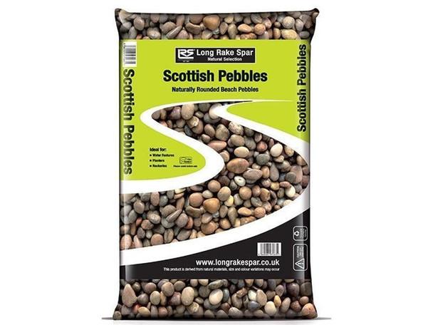 Long Rake Spar 20-30mm Scottish Pebbles Mini Bag