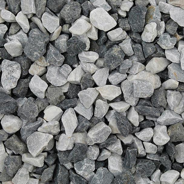Long Rake Spar 20mm Black Ice Chippings Bulk Bag - Dry