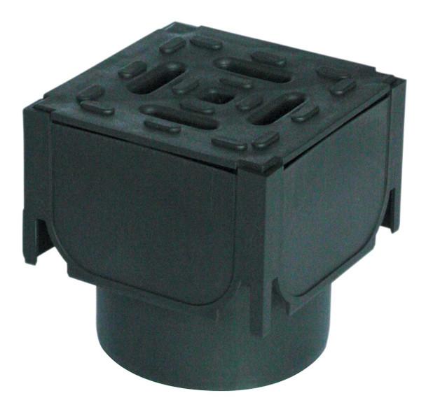 ACO HexDrain Corner Unit 110mm Vertical Outlet