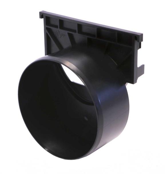 ACO HexDrain/RainDrain Outlet End Cap 110mm