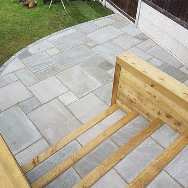 Global Stone Premium Sandstone Paving - Castle Grey