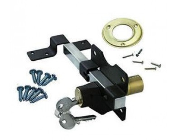 Premium Rim Lock Double Locking Bolt 70mm Key Lockable from both sides