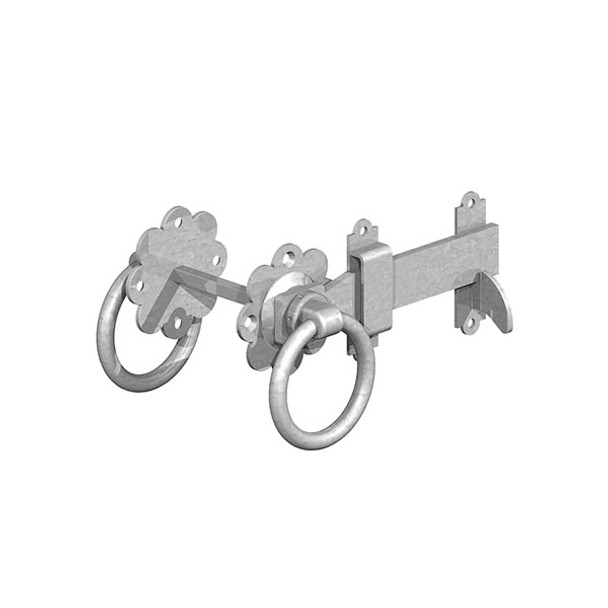 "5"" BZP Ring Gate Latch (Pre-Packed With Screws)"