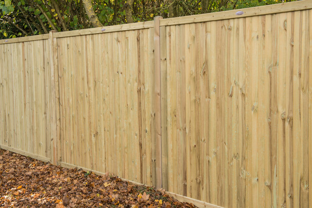 6ft Decibel Noise Reduction Fence Panel (1830 x 1800mm) - Pressure Treated Green Timber