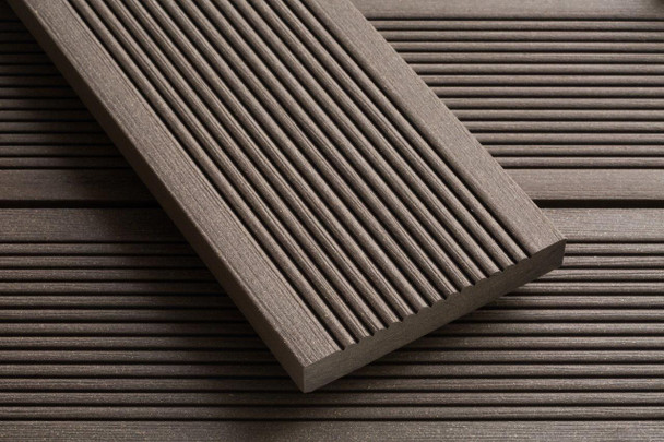 SmartBoard Composite Decking (3600 x 20 x 138mm) - Chocolate Brown