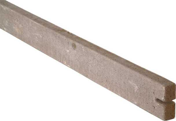 Concrete Gravel Board (2885 x 150 x 50mm) - To Suit Feather Edge