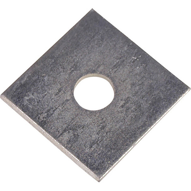 M10 x 50 x 50mm BZP Square Plate Washer