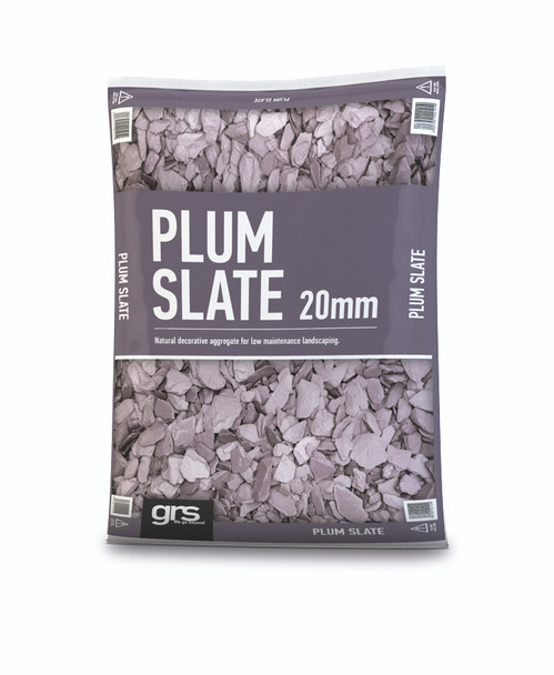 20mm Plum Slate Mini Bag (approx 25kg)