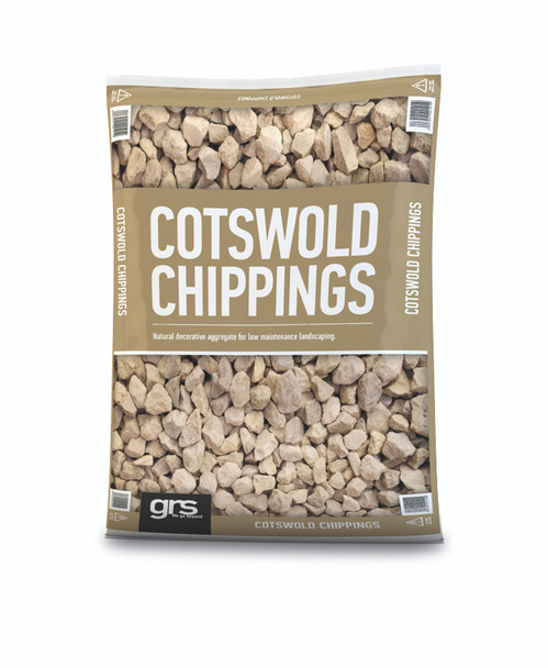 20mm Cotswold Chippings - 25KG Bag