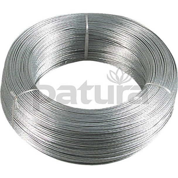 Patura Standard Wire (Galvanised 500mm Coil)