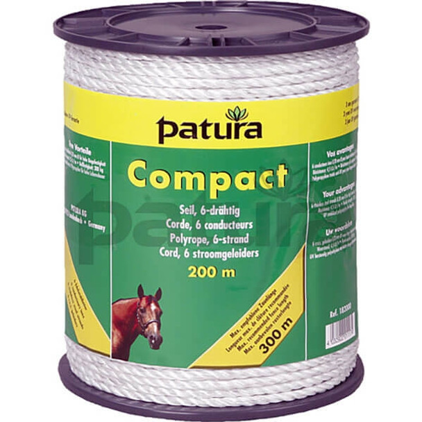 Patura White Compact Poly-rope (6 Strand)