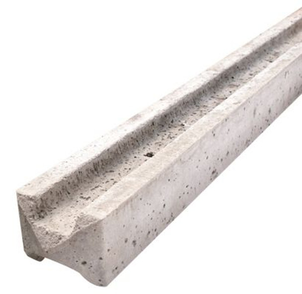 Concrete Slotted Intermediate Fence Post (2440 x 94 x 109mm)