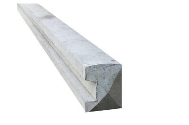 Concrete Slotted End Fence Post (2750 x 94 x 109mm)