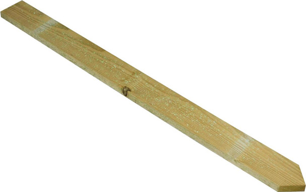 Pointed Top Palisade (900mm) - Pressure Treated Green Timber
