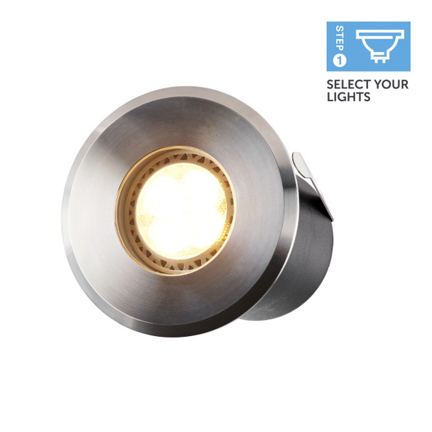 Ellumière Large Deck Light (67mm) - 2w LED Bulb
