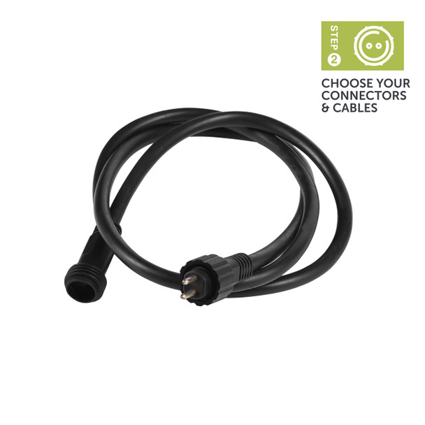 Ellumière Outdoor Lighting Extension Cable (2m)