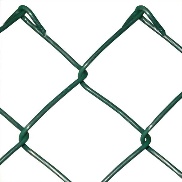 1200mm Galvanised Green Chain Link (50 x 3mm Mesh)
