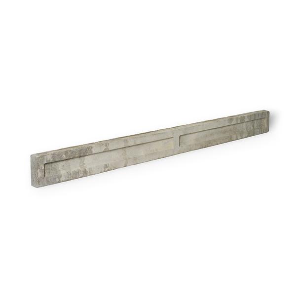 Concrete Gravel Board Side View