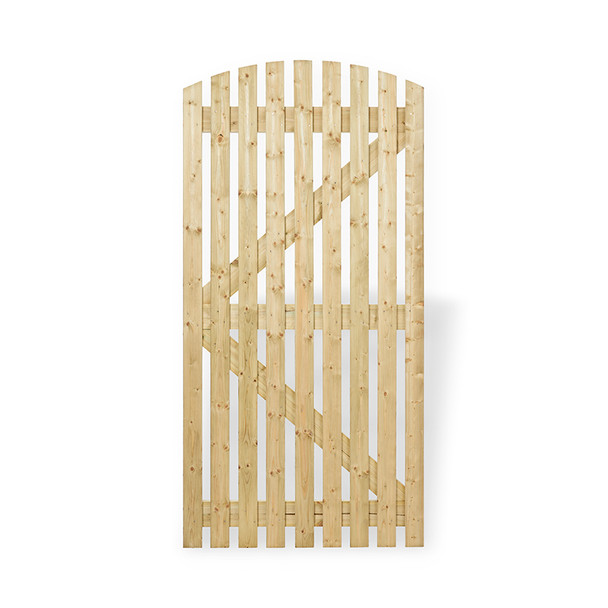 Curved Top Orchard Gate