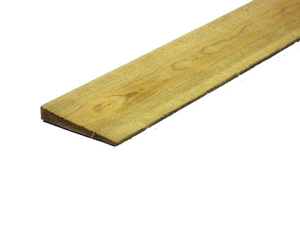 Feather Edge Fence Board (3600 x 150mm) - Pressure Treated Natural Timber