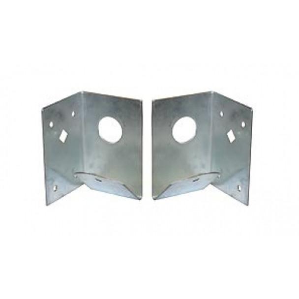 Arris Rail Support Bracket (Pair) - Galvanised Steel