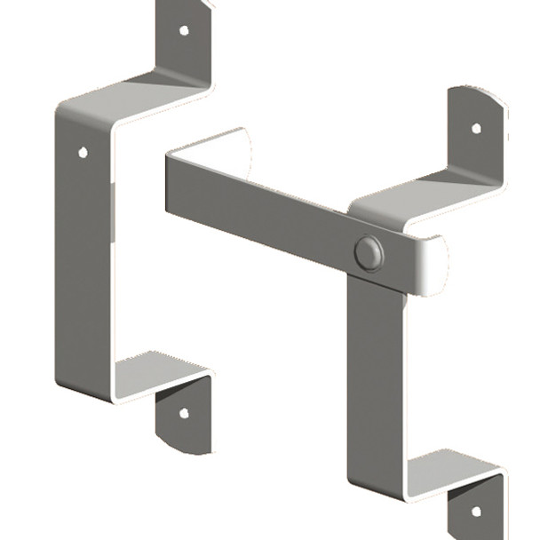 BZP Slip Rail Brackets (Pre Packed With Screws)