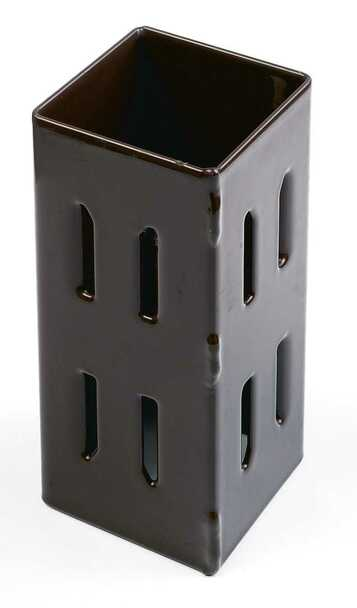 Fencemate Hold Fast Post Extender (for 100 x 100mm posts) - Epoxy Brown finish