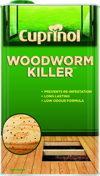 Cuprinol Woodworm Killer 5Ltr