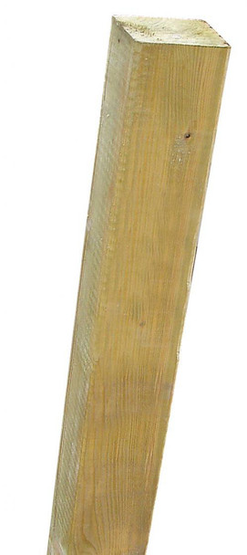 Fence Post (1500 x 100 x 100mm) - Pressure Treated UC4 Green Timber