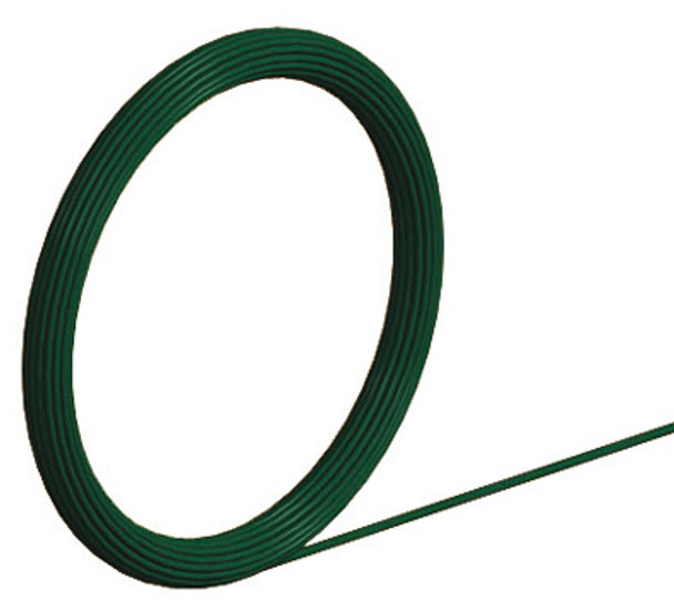 2.0/1.4mm Green Ty Wire  25M Coil galvanised Core