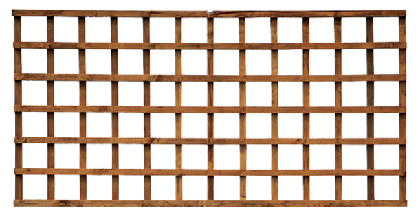 Square Heavy Trellis (3m) - Green