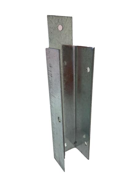 Gravel Board Clip (150 x 25mm) - Galvanised Steel