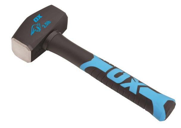 OX Tools - Trade Fibreglass Handle Club Hammer (2.5 lb)