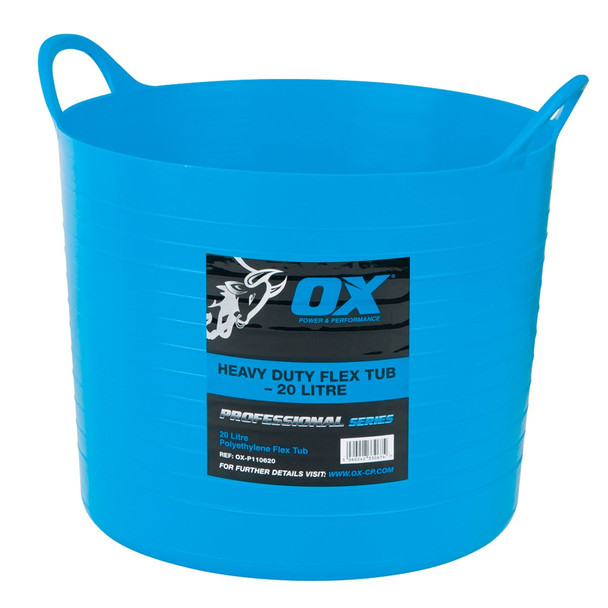 OX Tools - Pro Heavy Duty Flexi Tub (20L)