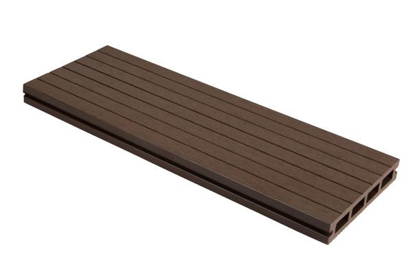 SmartBoard Composite Decking (3600 x 23 x 143mm) - Walnut Oak