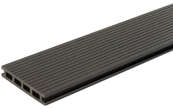 SmartBoard Composite Decking (3600 x 23 x 143mm) - Charcoal