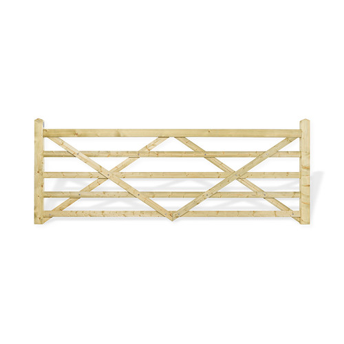 12 5 Bar Field Gate Universal Hang